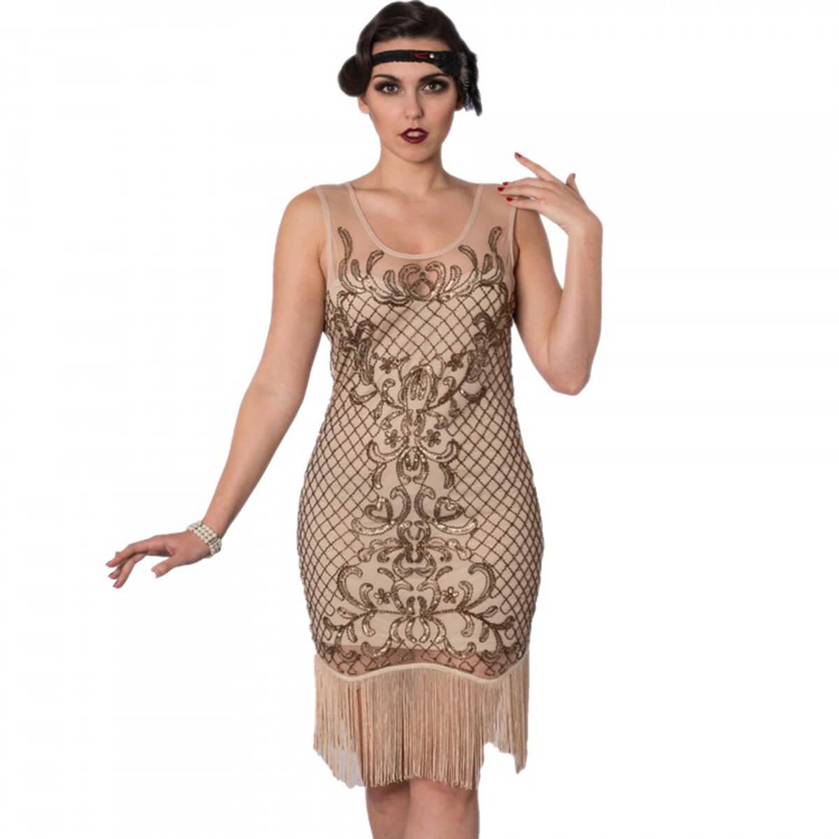 20 tals klänningar Great Gatsby klänningar   Vintagesugen