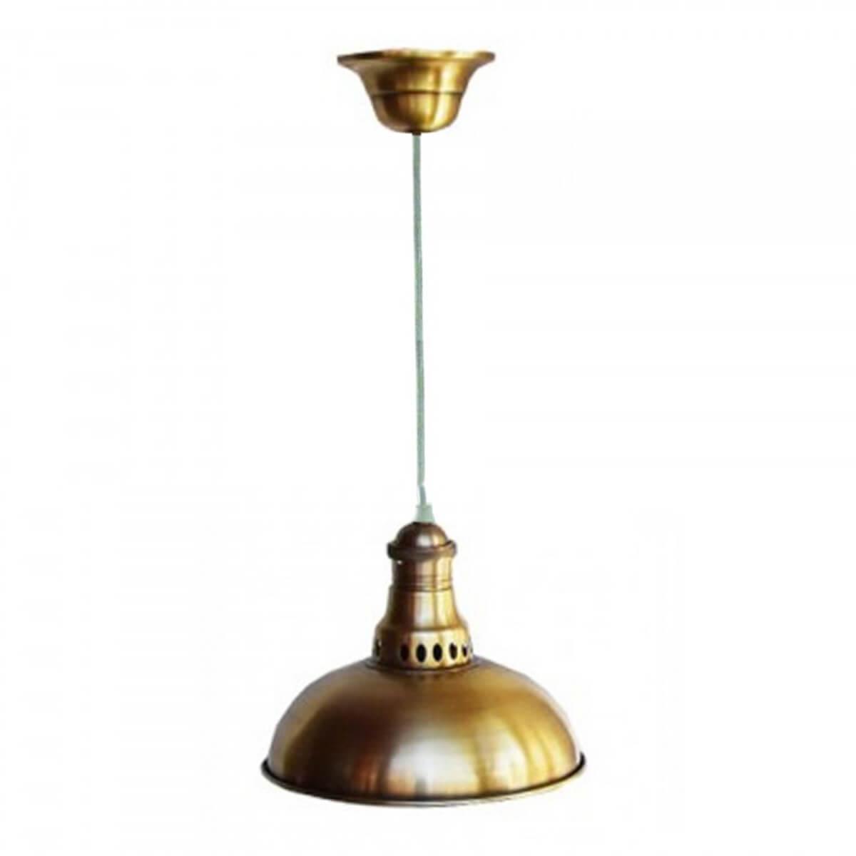 Antik mässing taklampa